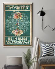 Yoga Master Your Breath 16x24 Poster lifestyle-poster-1