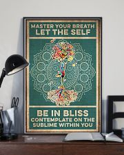 Yoga Master Your Breath 16x24 Poster lifestyle-poster-2