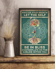 Yoga Master Your Breath 16x24 Poster lifestyle-poster-3