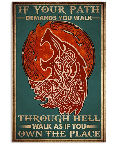 Viking Demands You Walk