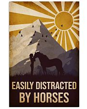 Horse Easily Distracted 16x24 Poster front