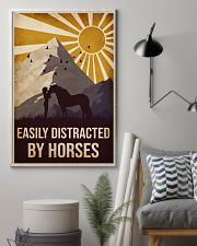 Horse Easily Distracted 16x24 Poster lifestyle-poster-1