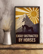 Horse Easily Distracted 16x24 Poster lifestyle-poster-3