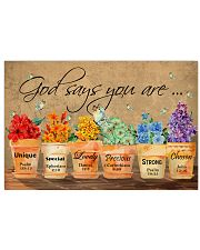 LGBT God Say You Are 36x24 Poster front