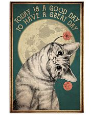 Cat Today Is A Good Day 16x24 Poster front