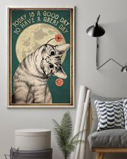 Cat Today Is A Good Day 16x24 Poster lifestyle-poster-1