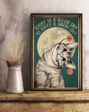 Cat Today Is A Good Day 16x24 Poster lifestyle-poster-3