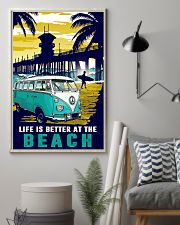 Ocean Life Is Better At The Beach 16x24 Poster lifestyle-poster-1