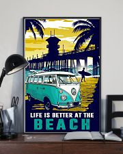 Ocean Life Is Better At The Beach 16x24 Poster lifestyle-poster-2