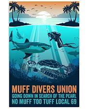 Ocean Muff Divers Union 16x24 Poster front