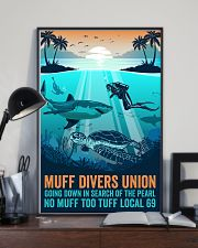 Ocean Muff Divers Union 16x24 Poster lifestyle-poster-2