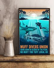Ocean Muff Divers Union 16x24 Poster lifestyle-poster-3