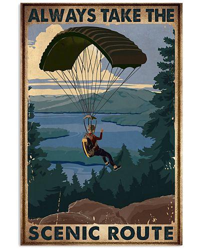 Parachuting Always Take The Scenic Route