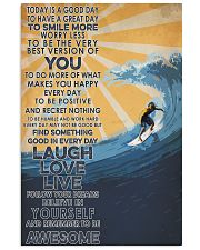 Surfing Laugh Love Live 16x24 Poster front