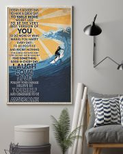 Surfing Laugh Love Live 16x24 Poster lifestyle-poster-1