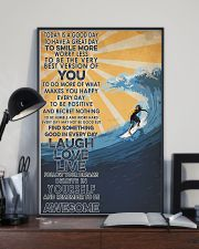 Surfing Laugh Love Live 16x24 Poster lifestyle-poster-2