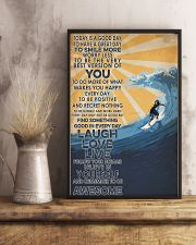 Surfing Laugh Love Live 16x24 Poster lifestyle-poster-3