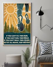 Running If You Can't Fly Then Run 16x24 Poster lifestyle-poster-1