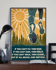 Running If You Can't Fly Then Run 16x24 Poster lifestyle-poster-2