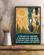 Running If You Can't Fly Then Run 16x24 Poster lifestyle-poster-3