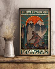 Bigfoot Believe In Yourself 16x24 Poster lifestyle-poster-3