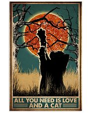 Cat All You Need Is Love 16x24 Poster front