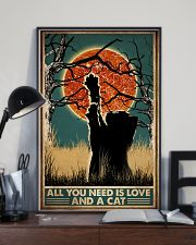 Cat All You Need Is Love 16x24 Poster lifestyle-poster-2