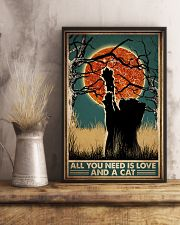 Cat All You Need Is Love 16x24 Poster lifestyle-poster-3