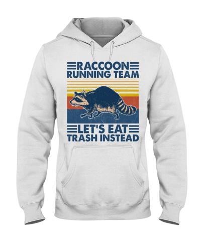 Animal Raccoon Running Team