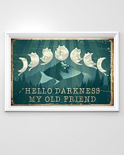Cat Hello Darkness 36x24 Poster poster-landscape-36x24-lifestyle-02