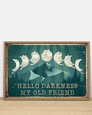 Cat Hello Darkness 36x24 Poster poster-landscape-36x24-lifestyle-03