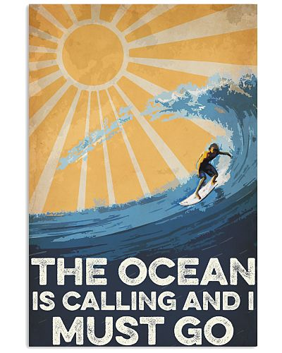 Surfing The Ocean Is Calling