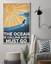 Surfing The Ocean Is Calling 16x24 Poster lifestyle-poster-1