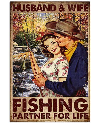Fishing Husband And Wife