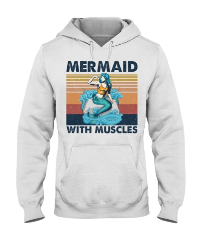 Fitness Mermaid With Muscles