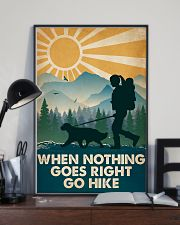 Hiking When Nothing Goes Right Go Hike 16x24 Poster lifestyle-poster-2