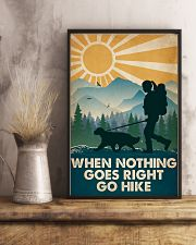Hiking When Nothing Goes Right Go Hike 16x24 Poster lifestyle-poster-3