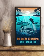 The Ocean Is Calling 16x24 Poster lifestyle-poster-3