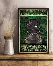 Cats And Had Tattoos 16x24 Poster lifestyle-poster-3