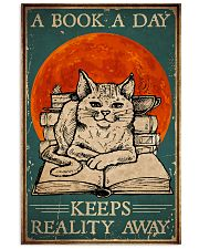Cat A Book A Day 16x24 Poster front