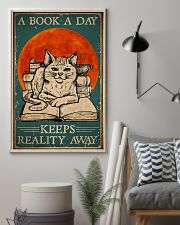 Cat A Book A Day 16x24 Poster lifestyle-poster-1