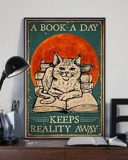 Cat A Book A Day 16x24 Poster lifestyle-poster-2