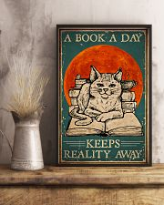 Cat A Book A Day 16x24 Poster lifestyle-poster-3