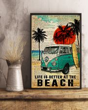 Ocean Life Is Better At The Beach 16x24 Poster lifestyle-poster-3