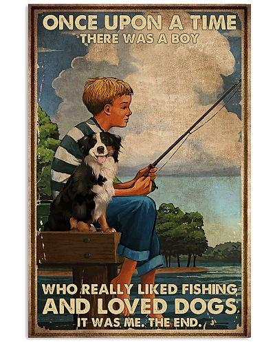 Dog And Fishing
