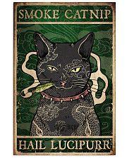Cat Smoke Catnip Hail Lucipurr 16x24 Poster front