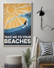 Surfing Take Me To your Beaches 16x24 Poster lifestyle-poster-1