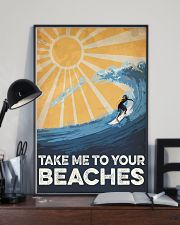 Surfing Take Me To your Beaches 16x24 Poster lifestyle-poster-2