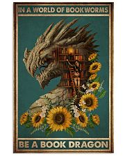 Book Dragon 16x24 Poster front