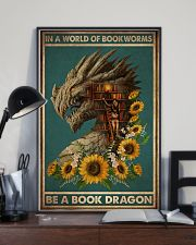 Book Dragon 16x24 Poster lifestyle-poster-2